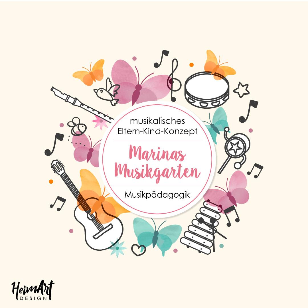 HeimArt Design Logo Marinas Musikgarten