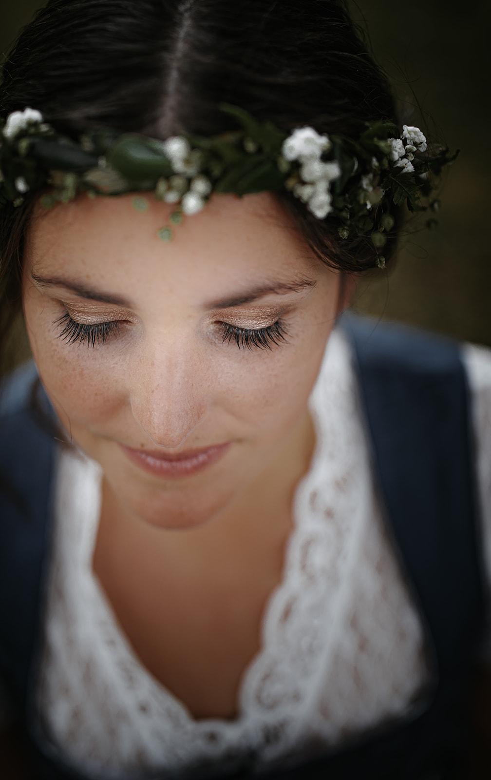 HeimArt Design Papeterie Chiemsee Hochzeit Greenery Wedding Braut Haare & Make-Up